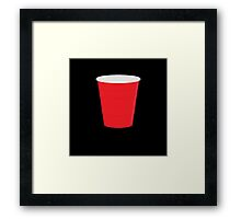 Red Solo Cup Framed Print