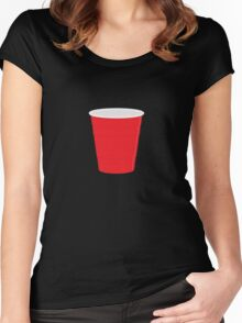 Red Solo Cup Women's Fitted Scoop T-Shirt