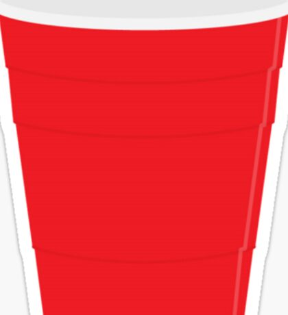 Red Solo Cup Sticker