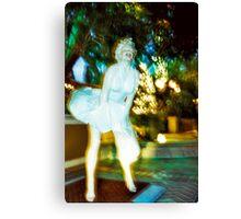 MarilynForSeasons Canvas Print