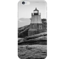 Castle Hill Lighthouse at Sunrise iPhone Case/Skin