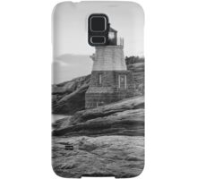 Castle Hill Lighthouse at Sunrise Samsung Galaxy Case/Skin