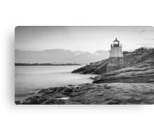 Castle Hill Lighthouse at Sunrise Metal Print