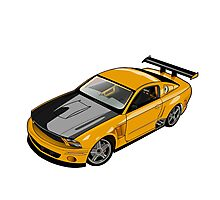 Mustang GT Photographic Print