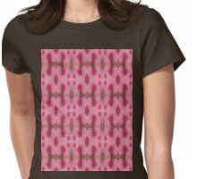 pink splotches Womens Fitted T-Shirt