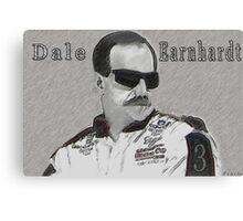 DEDICATION TO DALE EARNHARDT SR. (INTIMIDATOR) NASCAR  Canvas Print