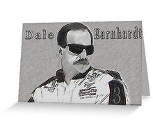 DEDICATION TO DALE EARNHARDT SR. (INTIMIDATOR) NASCAR  Greeting Card