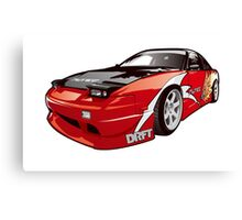 Drift 240sx Canvas Print