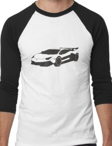 Lamborghini Men's Baseball ¾ T-Shirt