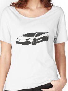 Lamborghini Women's Relaxed Fit T-Shirt