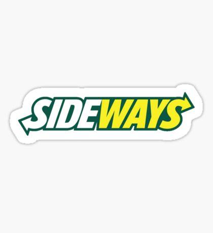 SIDEWAYS Sticker