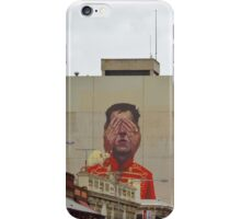 MURAL -PORT ADELAIDE iPhone Case/Skin