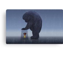 Gentle Protector Canvas Print