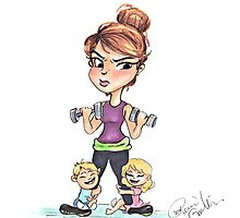 Fit Momma Photographic Print