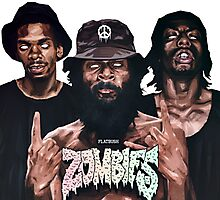 Flatbush Zombies Art Photographic Print