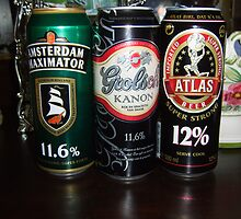 come on ...have a drink.   (dutch beer) by alaskaman53