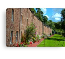New Lanark Houses Canvas Print