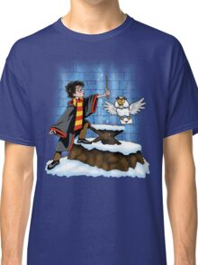 Wand and the Wizard Classic T-Shirt