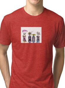 Flower People Tri-blend T-Shirt