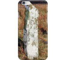 Ardkearagh Ogham Stone iPhone Case/Skin