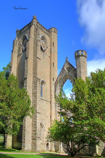 Dunkeld Cathedral Bell Tower by Tom Gomez
