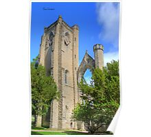 Dunkeld Cathedral Bell Tower Poster