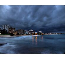 Ominous - Cronulla, NSW Photographic Print