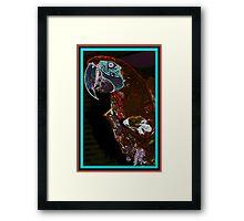 Parrot Head Framed Print