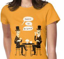 Oui Oui Tea Time Womens Fitted T-Shirt
