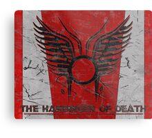 The Harbinger of Death, BSG Metal Print