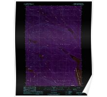 Maine USGS Historical Map Clarkson Pond 105030 1989 24000 Inversion Poster