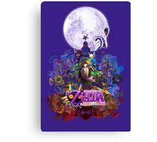 zelda majora's mask 3D Canvas Print