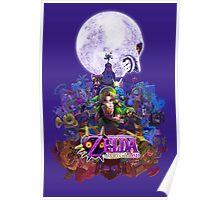 zelda majora's mask 3D Poster