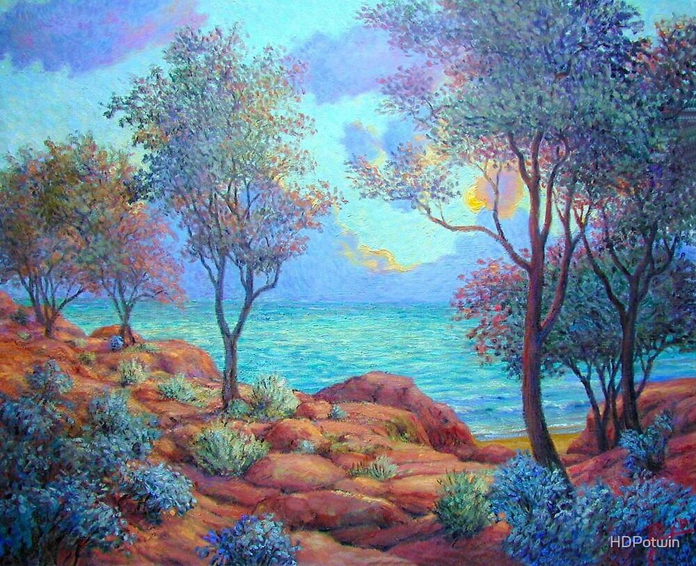 Rocky Coast by HDPotwin