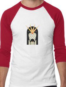 Love Penguin  Men's Baseball ¾ T-Shirt