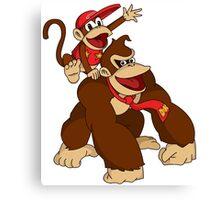 """Kong Buddies!!!"" Canvas Print"