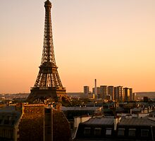 The Eiffel Tower by Kevin Hayden Paris