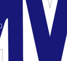 "Clayton Kershaw ""MVP"" Sticker"