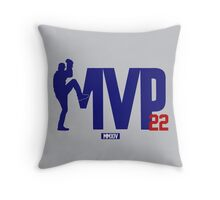 "Clayton Kershaw ""MVP"" Throw Pillow"