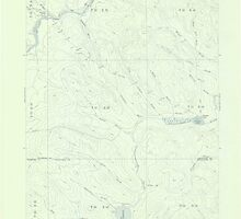 Maine USGS Historical Map Clayton Lake 306526 1955 62500 by wetdryvac