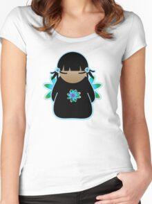 Koki Kawaii Little Sky Tshirt Women's Fitted Scoop T-Shirt