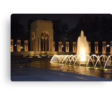 WWII Memorial Canvas Print