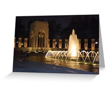 WWII Memorial Greeting Card