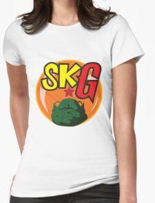 Super Kami Gurus Crew Emblem Womens Fitted T-Shirt