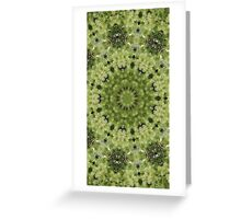 daylight green Greeting Card