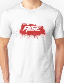 Rise Paint Block RED T-Shirt