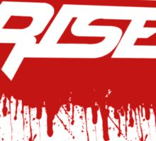 Rise Paint Block RED Sticker