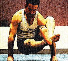#603  Yoga Pose #1 by MyInnereyeMike