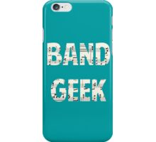 Band Geek iPhone Case/Skin