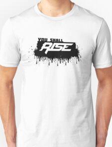 Rise Paint Block BLACK T-Shirt